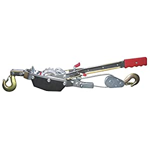Kerbl Hand-Powered Cable Hoist with Ratchet