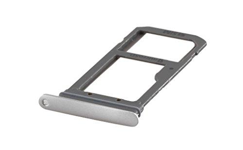 ICONIGON Samsung Galaxy S7 Edge Sim Karten-Halter Schublade Fach Slot Tray Card Holder Silber für SM-G935F