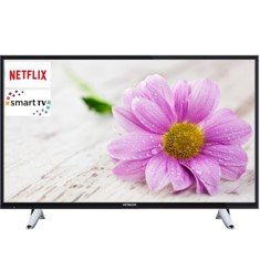 HITACHI 49 49HB6W62 LED TV / FULL HD / 600 BPI / DVB-T/T2/C / SMART TV / WIFI INTEGRADO / WEB BROWSER / NETFLIX / HDMI x 3 / USB GRABADOR / BLUETOOTH / MODO HOTEL / A+