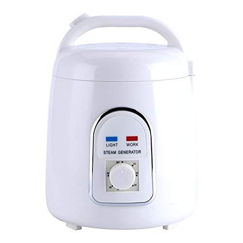 Acouto Saunen-Dampferzeuger, 1.5L tragbarer Dampfsauna-Dampfer-Haupttopf, für Dampfsauna, Dampfkabine oder andere in Verbindung stehende Einzelteile(EU-Stecker)