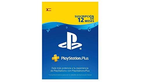 TARJETA SONY PLAYSTATION PLUS CARD 365 DIAS PS4 / PS3 / PSVITA