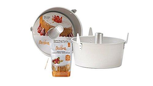 IRPot - SET STAMPO ANGEL FOOD CHIFFON CAKE 25 CM + CREMOR DI TARTARO 50 GR 9261664 DOLCI