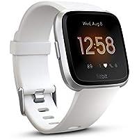 Fitbit Versa Montres connectées forme, sport & bien-être: + de 4 jours d'autonomie, étanche, suivi fréquence cardiaque