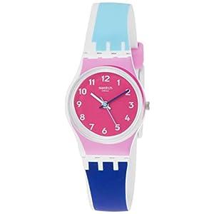 Swatch Reloj Analógico para Mujer de Cuarzo con Correa en Silicona LW166