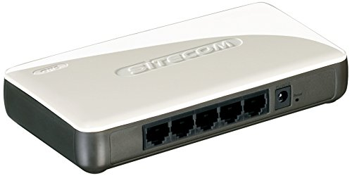 Sitecom Wi-Fi Access Point N300+ mit 5 Port Switch -