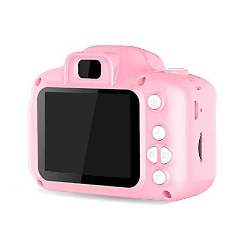 """WNFDH Digitalkamera für Kinder/mit 2.0""""- und 4""""-HD-Display Digitalkamera für Kinder/USB/Vorschulkamera, Videoaufnahme/als Geburtstagsgeschenk,Pink"""