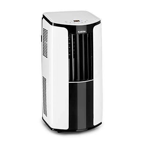Klarstein New Breeze ECO • mobile Klimaanlage • Klimagerät • Luftkühler • energieeffizient • Luftdurchsatz von 360m³/h bei 64 dB max. • 935 Watt • 10.000 BTU/h • 3 Windstärken • Fernbedienung • weiß