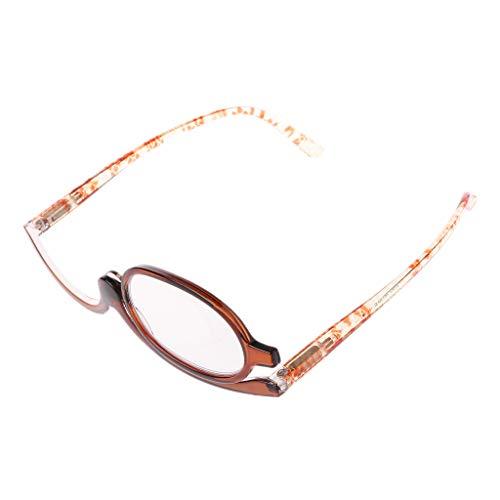 Lifet Frame Runde Brille Retro Klare Linse Brille, Unisex +1 +1.5 +2 +2.5 +3 +3.5 +4.0 - Light Gewicht Klassische Brillenfassung