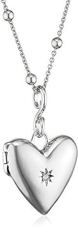 Hot Diamonds Spontaneous Silver And Diamond Locket Pendant 45