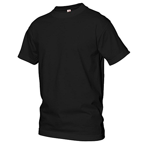 Logostar - Basic T-Shirt - Übergrößen bis 15XL Black