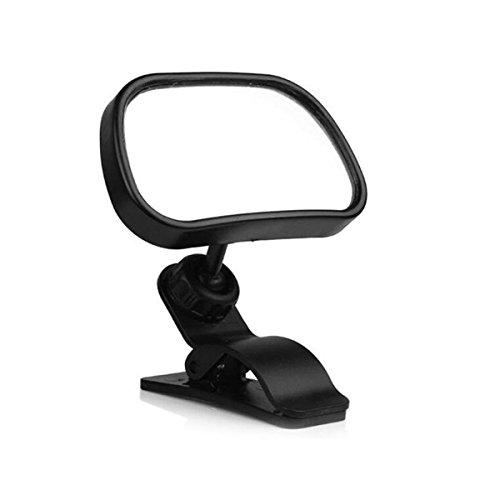 Imagen para anzene coche bebé Espejo curvado Espejo Espejo rápidamente entiende el estado de la parte trasera asiento 360Degree con ventosa, asiento trasero Bebé Espejo