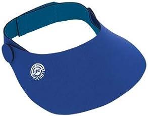 AHG - Anschutz Noeprene Cap Deluxe (Adjustable), Colour : Blue, Made in Germany
