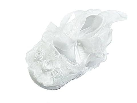 Cinda Bébé fille dentelle chaussures de
