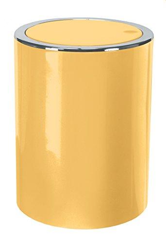 Kleine Wolke Clap Swing Bin, gelb, 19x 19x 24,5cm - Swing Bin
