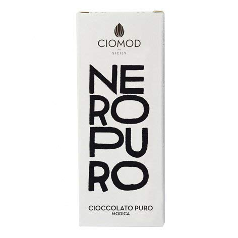 TIPILIANO | Modica Chocolat Noir Pur | 100 gr.