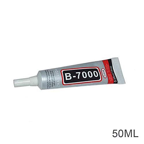 Vaugan 1/4/10PCS B-7000 Colla Adesiva Industriale per Telaio Telefono paraurti Gioielli, 1pcs, 50 ml