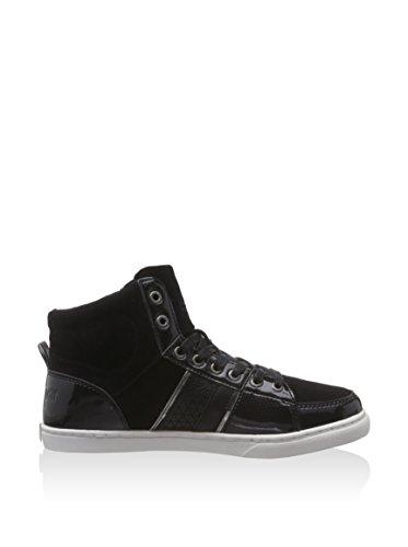 Le Coq Sportif - Assia Mid, Sneaker alte Donna Nero (Nero (nero))