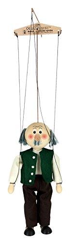 ABA 20cm Holz Großvater Marionette Spielzeug (Mehrfarbig)