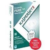 Kaspersky PURE 3.0 Total Security Software (für 1 Jahr und 3 User)