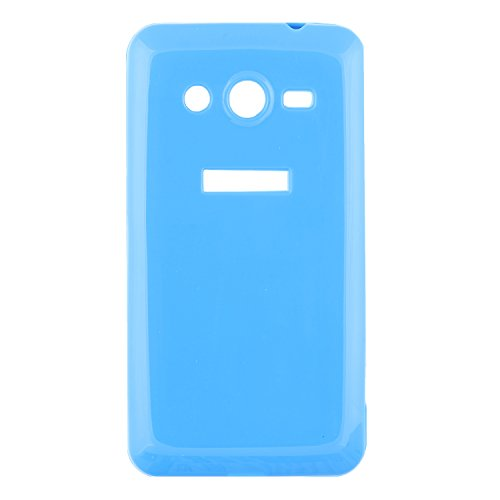 iCandy™ thin Soft TPU Back Cover for Samsung Galaxy Core 2 G355H - Blue  available at amazon for Rs.99