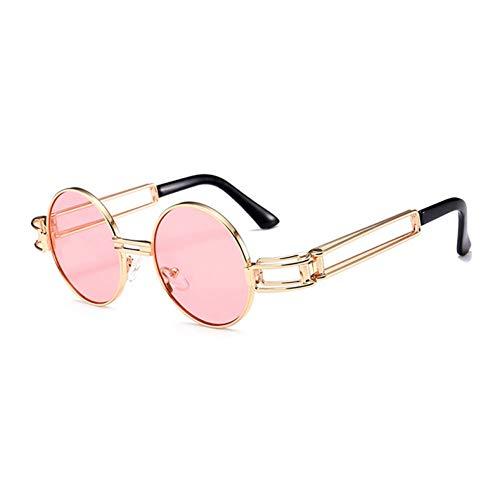 Limotai Sonnenbrillen Männer Und Frauen Aus Metall Runde Sonnenbrille Hot Sale Marke Brille Retro Rot Grau Sonnenbrille Uv 400 Gläser