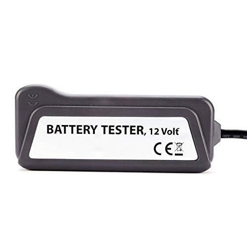 Nero QX3012 Tester Digitale Portatile a 12 Volt LED Batteria//alternatore Tester Batteria Auto con Morsetti e indicatori Luminosi