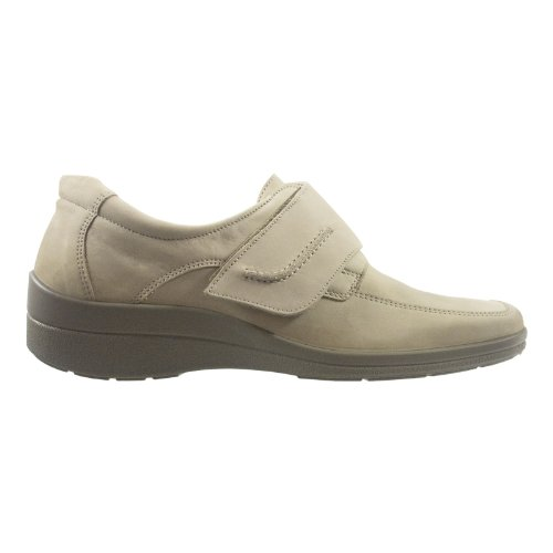 Simona 08692-155 Damen Schuhe Premium Qualität Slipper Beige (Beige)