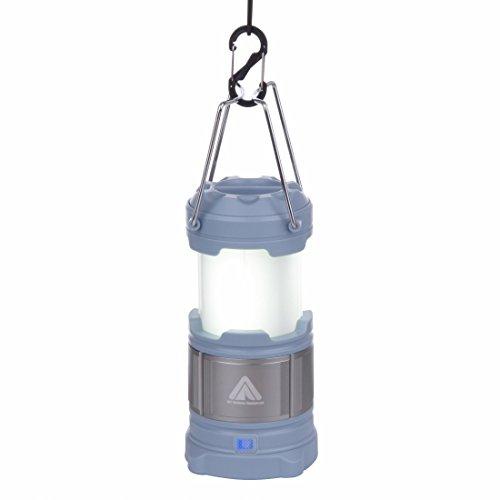 10T CPL 185 - Camping-Lampe185 Lumen   inkl. 4800mAH Power Bank   15 LEDs   360g   Laterne   blau -