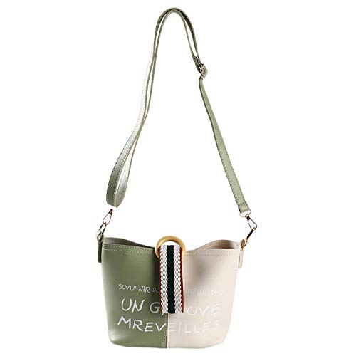 er Eimer Taschen Dame Modus Handtaschen Crossbody Taschen Grün ()