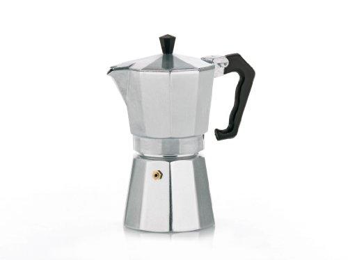 Kela 10592 Espressokocher, 9 Tassen, Aluminium, Italia