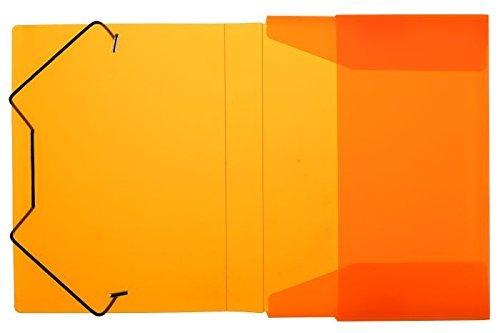 Heftbox / DIN A5 / aus PP / Farbe: transluzent orange by Idena
