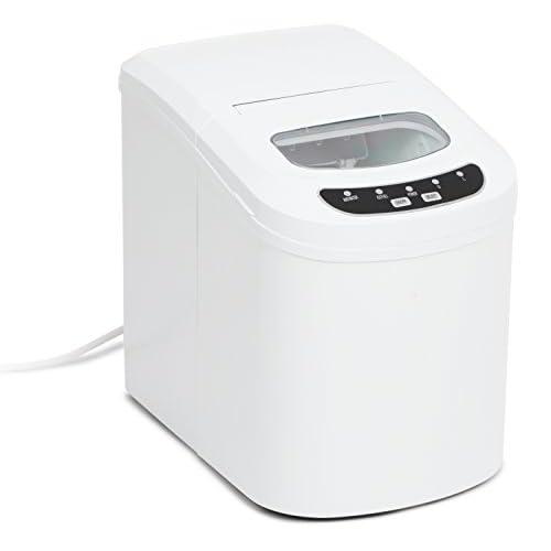 31GNwUgzCHL. SS500  - Kenley Electric Ice Cube Maker Machine, Plastic, White