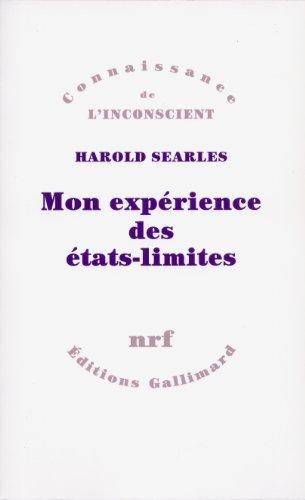 Mon expérience des états-limites par Harold Searles