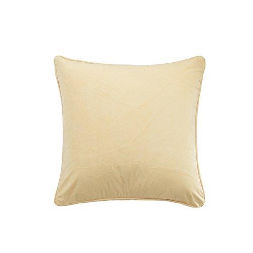 Semplice cuscino in pile tinta unita/ moderno peluche cuscino/ divano cuscini/ indietro cuscino letto-K 45x45cm(18x18inch)VersionA