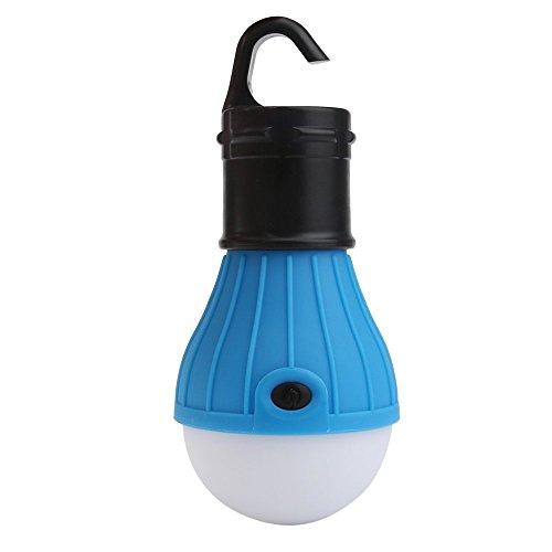 Gaddrt Camping Licht Tragbare hängende LED Campingzelt-Glühlampe im Freien, die Laterne-Lampe fängt Zeltlicht (Blue) - Hängenden Freien Laternen Im