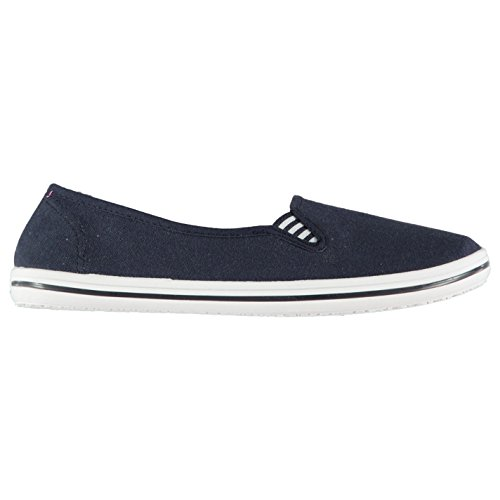 Slazenger Damen Canvas Slipper Sneaker Marineblau 41 -
