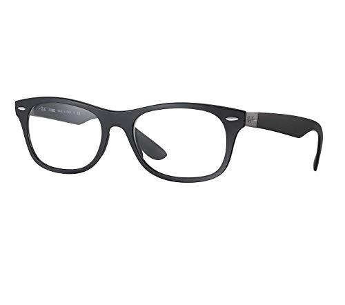 Rayban Unisex-Erwachsene Brillengestell RX7032, Schwarz (Matte Black), 52
