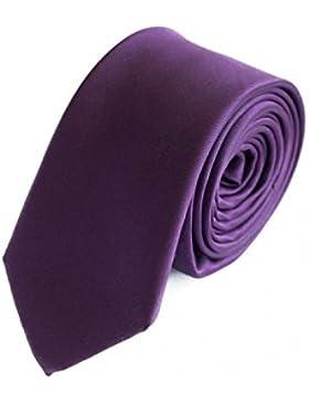 Krawatte schmal lila von Fabio F