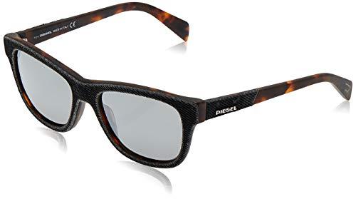 Diesel sunglasses dl0111 05c 52 occhiali da sole, grigio (grau), unisex-adulto