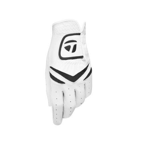 TaylorMade Stratus White/Black Golf Glove