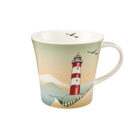 Goebel Lighthouses - Coffee-/Tea Mug Scandic Home Scandic Home Wohnaccessoires Bunt Fine Bone China