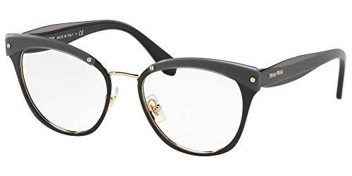 Brillen Miu Miu VMU54Q BLACK Damenbrillen