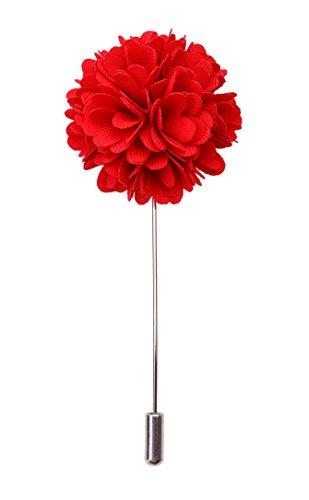 LAPEL PIN - CARNATION ORIGINAL RED