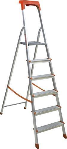 HAILO Scala domestica Hailo in alluminio gradini 8 L60 8508