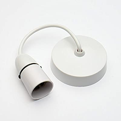 Bulk Hardware Ceiling Rose Flex with Lamp Holder, 6 Inches - White produced by Bulk Hardware - quick delivery from UK.