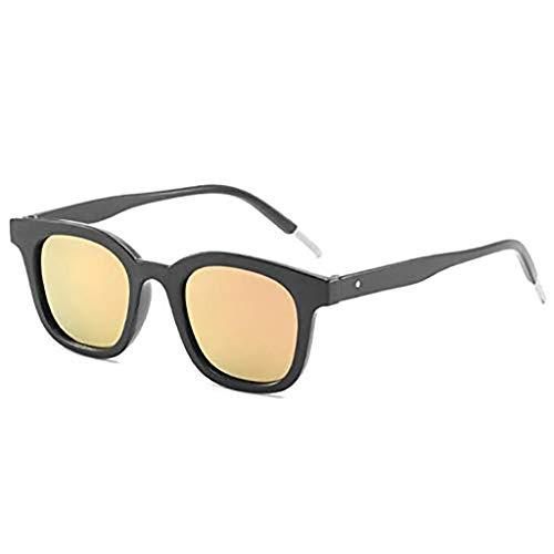 I will take action now Sonnenbrille Sonnenbrille, Qin-Dynastie-Sonnenbrille, Katzenaugen, Sonnenbrille, weibliche Flut, rundes Gesicht, männlich (Color : C)