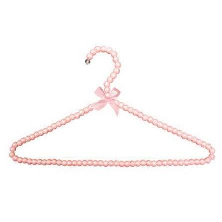 Xmdnye ragazza pearl bow-hanger plastica lady abito da sposa hanger camicie abiti hanger 10 pcs/lotto