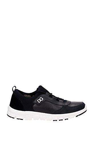 sneakers-dolcegabbana-homme-cuir-noir-et-blanc-cs1265af30280999-noir-40eu
