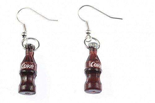 Colaflasche Ohrringe Colaohrringe Flasche Ohrhänger Miniblings Cola Limonade
