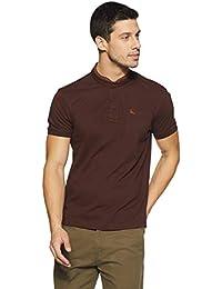 Parx Men's Plain Regular Fit T-Shirt